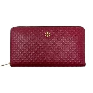 Tory Burch Marion Embossed Continental Wallet